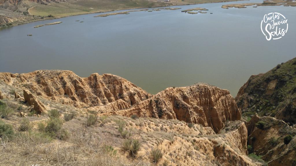 Vistas de las Barrancas de Burujón desde los acantilados