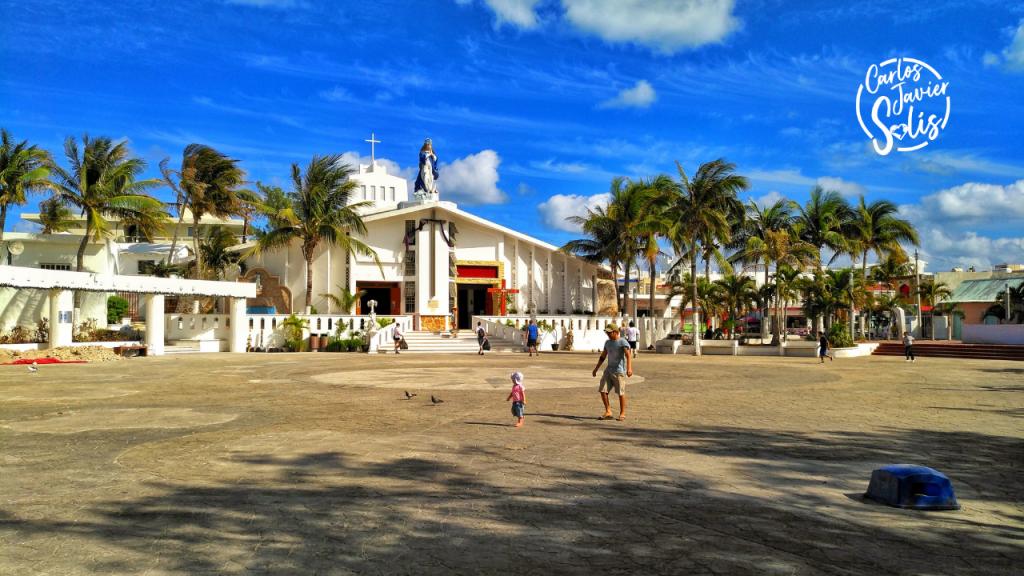 Parroquia de la Inmaculada Concepción en Isla Mujeres