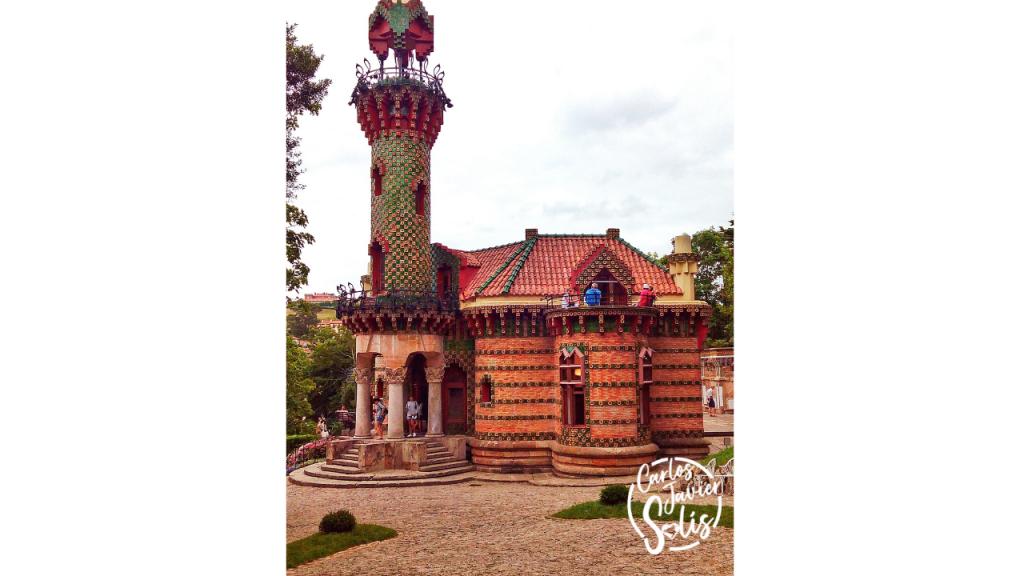 El Capricho de Gaudí, una de las pocas obras modernistas de este prolífico artista que se encuentran fuera de Barcelona, en concreto en Comillas (Cantabria)
